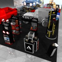 Airlocked Trade Show Booth Design by Footprint Exhibits in Seattle, WA