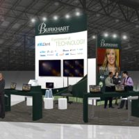 Burkhart Trade Show Booth Design by Footprint Exhibits in Seattle, WA