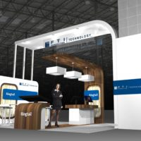 FTI Consulting Trade Show Booth Design by Footprint Exhibits in Seattle, WA