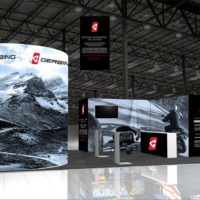 Gerbing Trade Show Booth Design by Footprint Exhibits in Seattle, WA