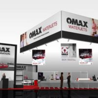 Omax Trade Show Booth Design by Footprint Exhibits in Seattle, WA