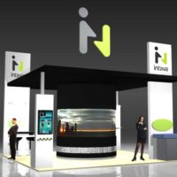 Intava Trade Show Booth Design by Footprint Exhibits in Seattle, WA