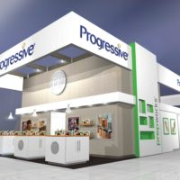 Progressive Trade Show Booth Design by Footprint Exhibits in Seattle, WA