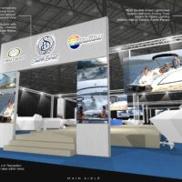 Seattle Boat Trade Show Booth Design by Footprint Exhibits in Seattle, WA