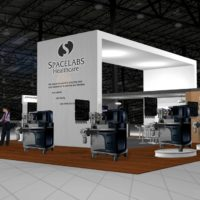 Space Labs Trade Show Booth Design by Footprint Exhibits in Seattle, WA