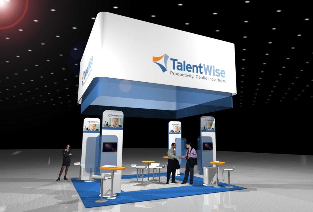 Custom Booths - Footprint Exhibits
