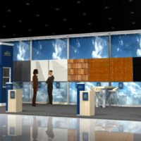 Versatile Roofing & Siding Trade Show Booth Design by Footprint Exhibits in Seattle, WA